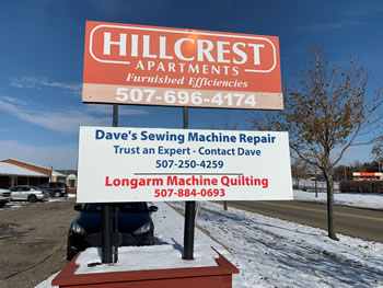 Dave S Sewing Machine Repair Welcome